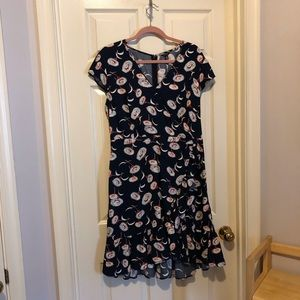 J.Crew Mercantile floral ruffled dress - size 14T